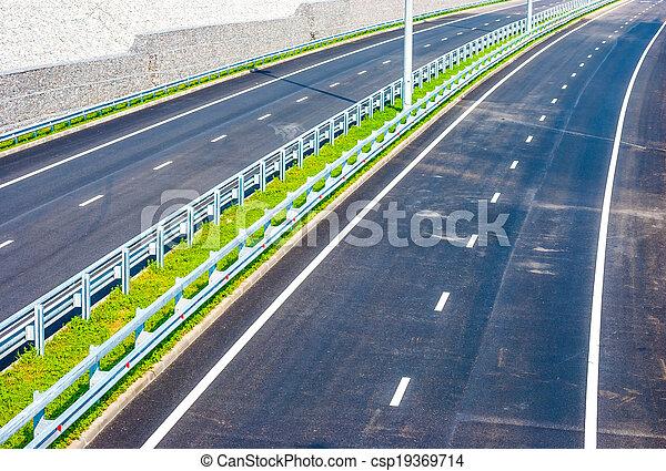 road under bridge - csp19369714