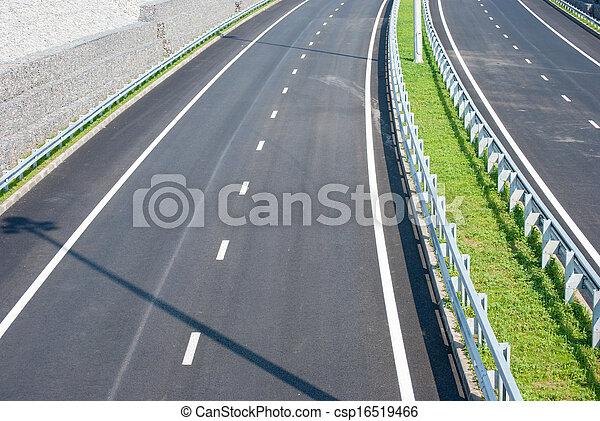 road under bridge - csp16519466