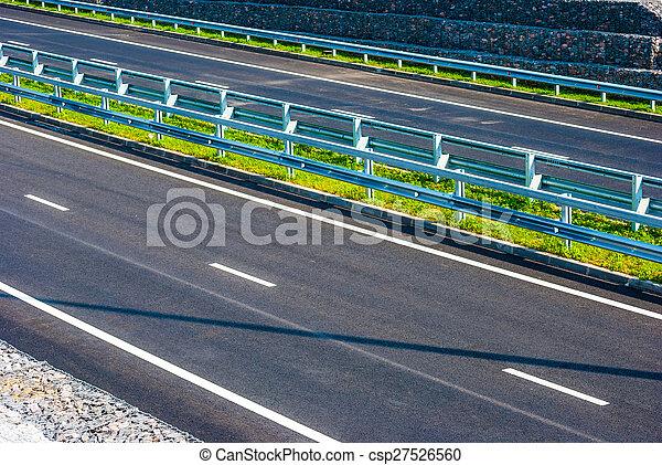 road under bridge - csp27526560