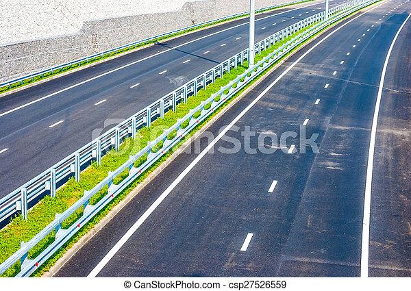 road under bridge - csp27526559