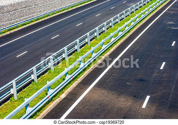 road under bridge - csp19369720
