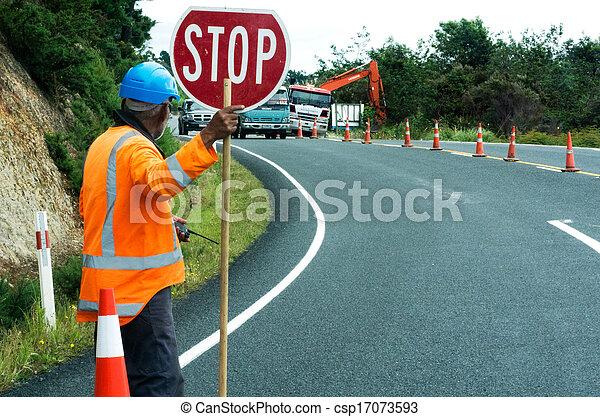 Road work - csp17073593