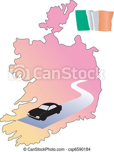 roads of Ireland - csp6590184