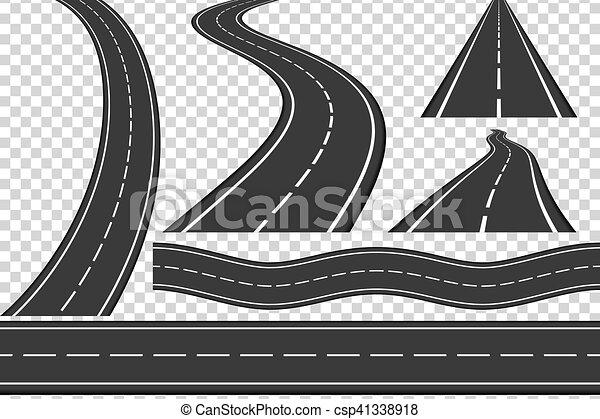Roads - csp41338918