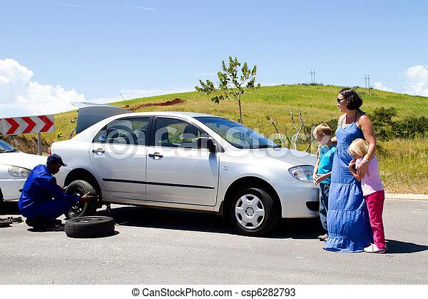 Roadside assistance - csp6282793