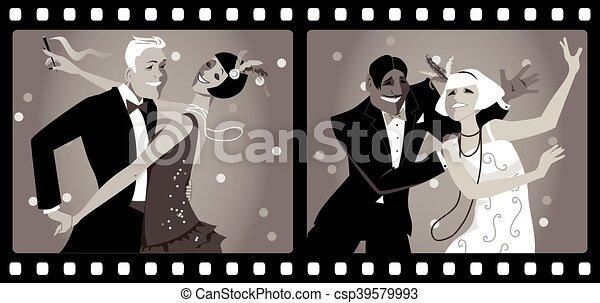 Roaring Twenties - csp39579993