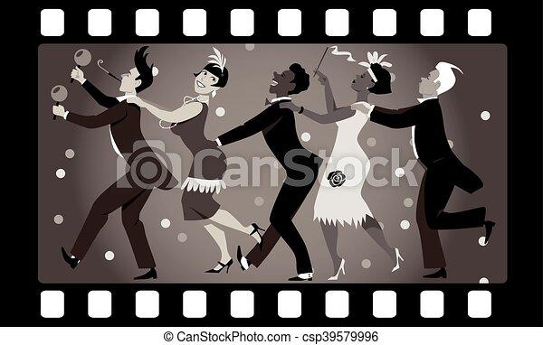 Roaring Twenties Party - csp39579996
