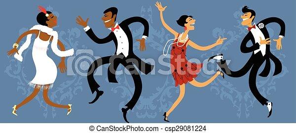 Roaring twenties party - csp29081224