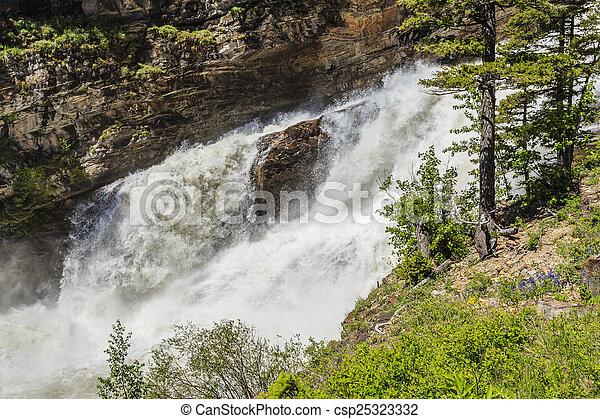 Roaring Waterfalls - csp25323332
