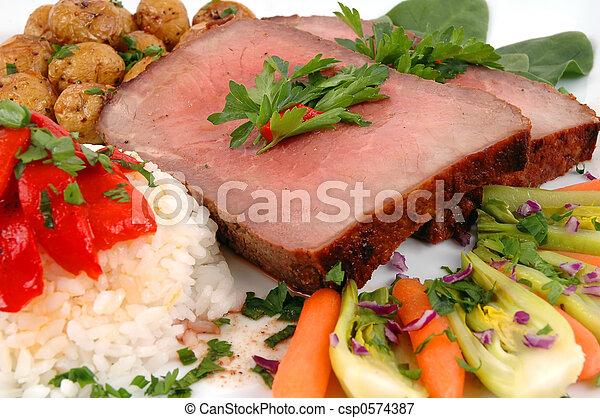 Roast Beef - csp0574387