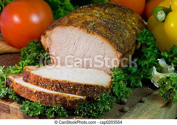 Roast Pork - csp0203554