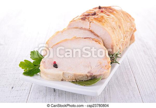 roast pork - csp23780804