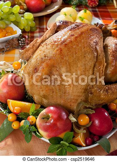 roast turkey - csp2519646