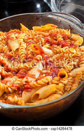 roast with the pasta - csp14284478