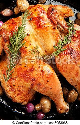Roasted Chicken - csp6053068
