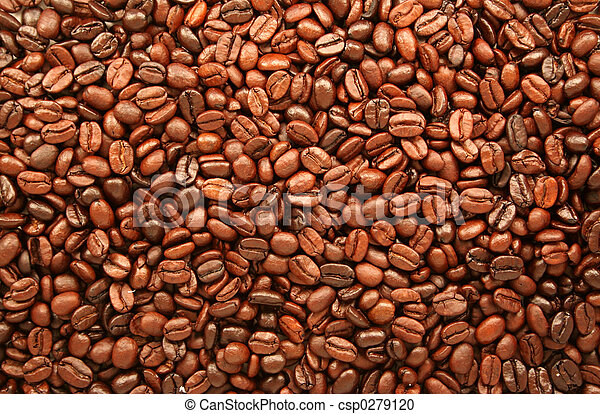 Roasted Coffee Beans - csp0279120