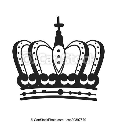 roayl corona rey rey silueta joyas real objeto corona