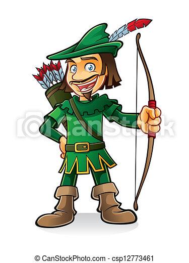 Robin Hood - csp12773461