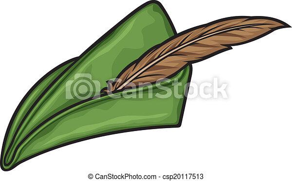 robin hood hat - csp20117513 869301dc57e0