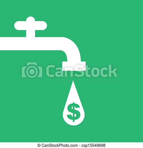 robinet eau, argent - csp15549698