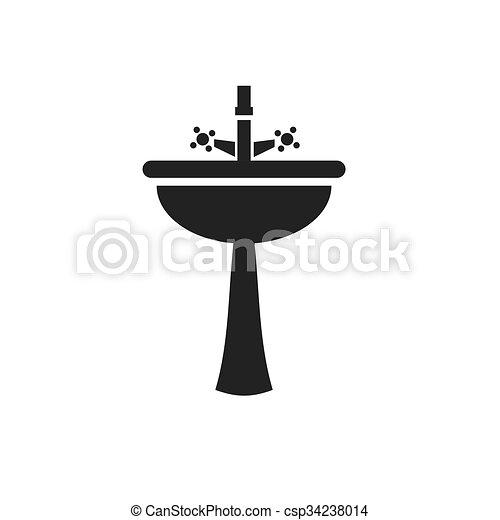 robinet noir sombrer ic%C3%B4ne clipart vectoris%C3%A9 csp34238014 Résultat Supérieur 16 Merveilleux Robinet Noir Galerie 2018 Jdt4