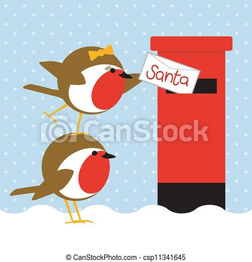 robins posting letter - csp11341645