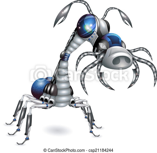 Robot-insect - csp21184244