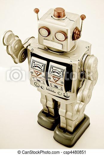 robot jouet - csp4480851