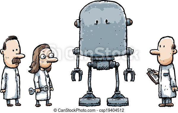 Robot Scientists - csp19404512