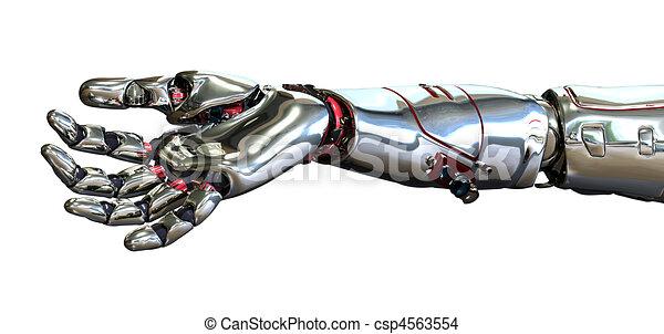 Roboterhand - csp4563554