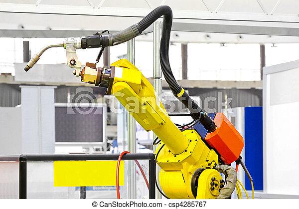 Robotic arm welder - csp4285767