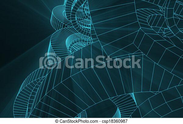 Robotic, draht, hintergrund, masche. Draht, kunst,... Stock ...