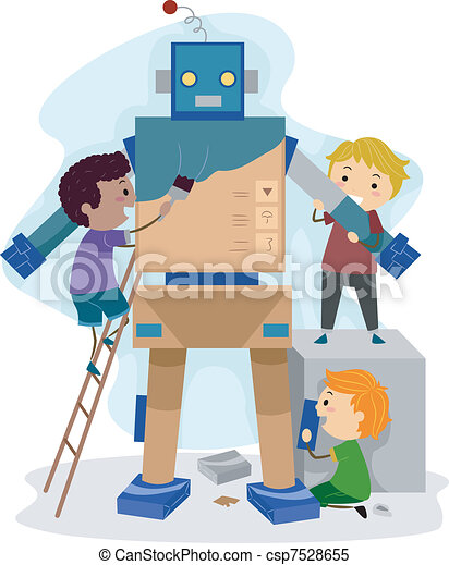 Robotics Illustrations And Stock Art 35 203 Robotics Illustration