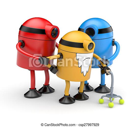 Robots family - csp27997929