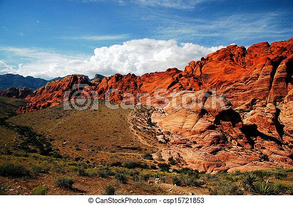 Roca Roja - csp15721853