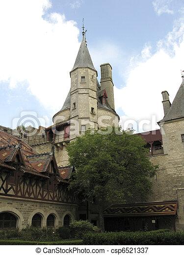Rochepot medievale castello la la secolo francia for Piani di casa castello medievale