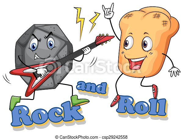 Rock and roll - csp29242558