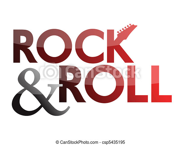 rock and roll - csp5435195