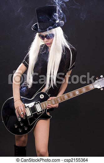 rock babe - csp2155364