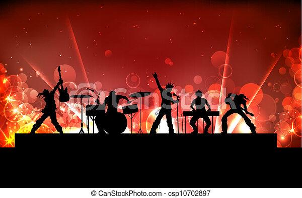Rock Band - csp10702897