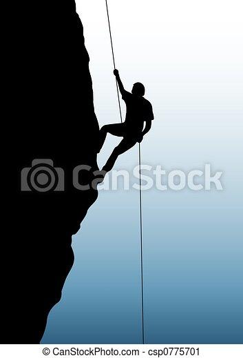 Rock climbing - csp0775701
