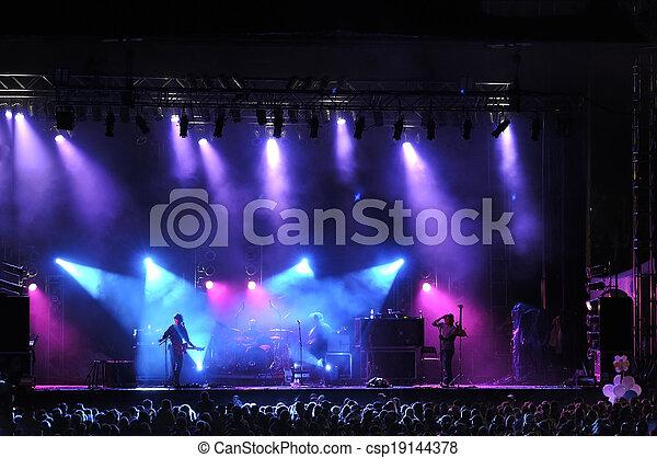 Rock concert - csp19144378