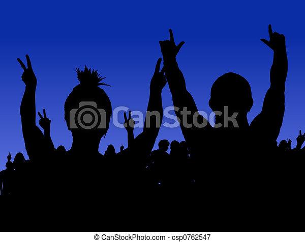 Rock Concert - csp0762547