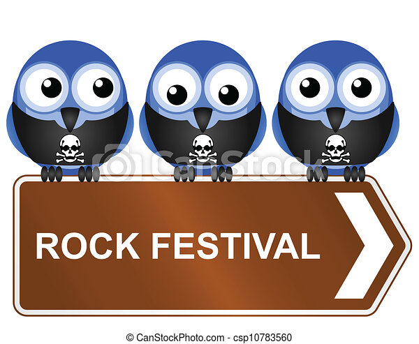 rock festival  - csp10783560