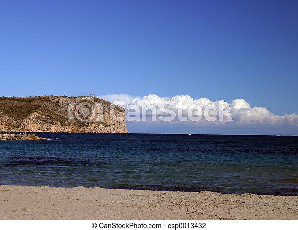 rock in the ocean - csp0013432
