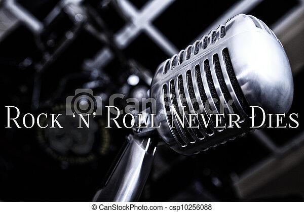 Rock n Roll never Dies - csp10256088