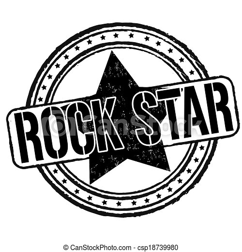 rock star stamp rock star grunge rubber stamp on white rock star clip art for kids rock star clipart black and white