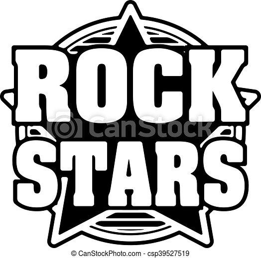 rock stars black and white vector design vector clip art search rh canstockphoto com vector star outline victor starsky tenor