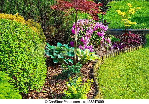 Rockery Garden - csp28247099