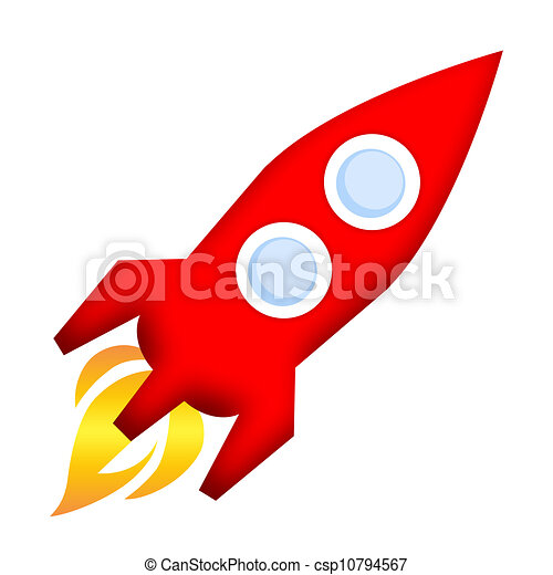 rocket launch spaceship rocket launch isolated over white background rh canstockphoto com
